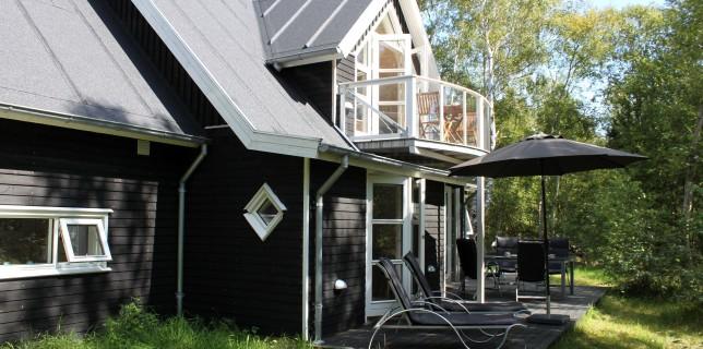 Eksteriør fra færdigt hus - Hirtshals Totalbyg - Lillehedenhuset